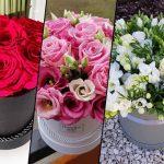 Ekskluzywne flower boxy ze sztucznych kwiatów - kwiaciarnia online.