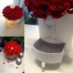 Walentynki - Święto Zakochanych Bukiet Kwiatów Róże