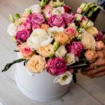 Kwiaty w pudełkach na każdą okazję - Prezent kwiatowy ODBIERZ