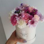 UROKLIWE KWIATY W BOXIE - FLOWER BOX BUKIET KWIATÓW